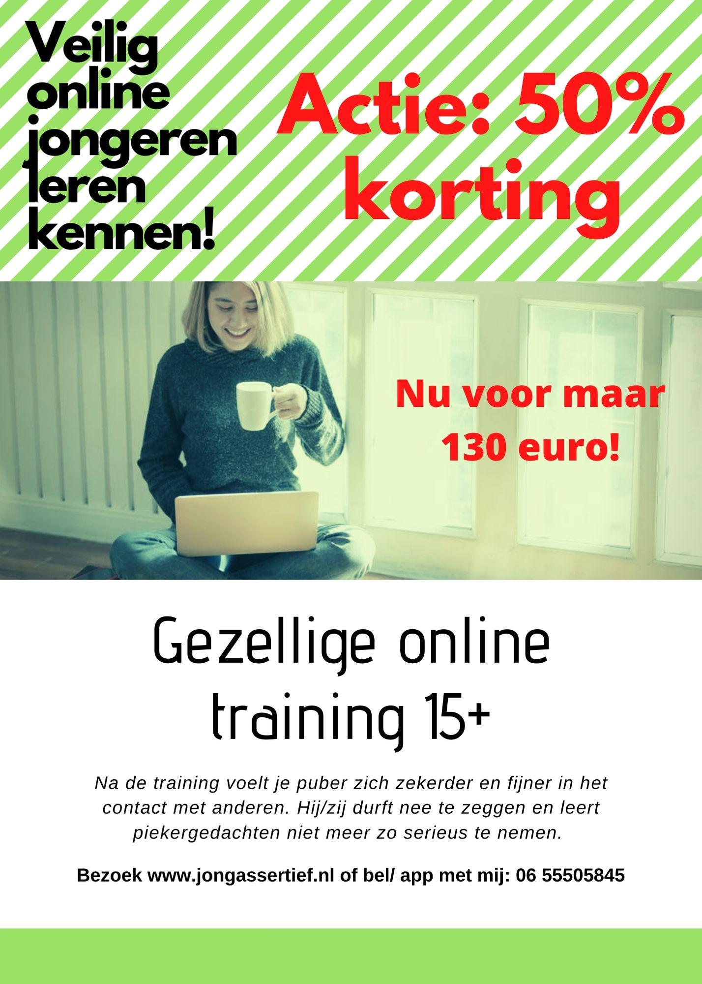 Jongeren training online