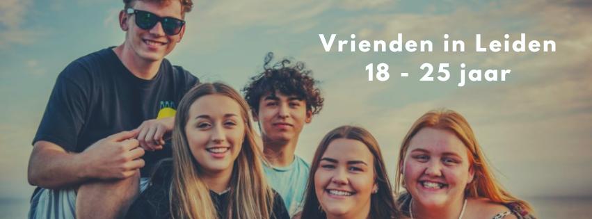 Vrienden in Leiden 18 - 25 jaar